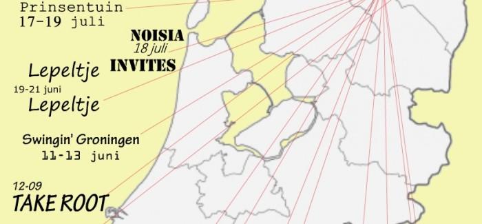 De 'Festivalkaart van Nederland' van Glasnost spreekt aan