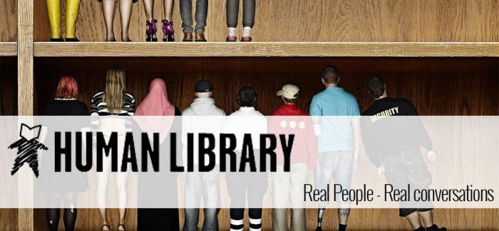 Alex Jbeily en Rob de Groot over The Human Library